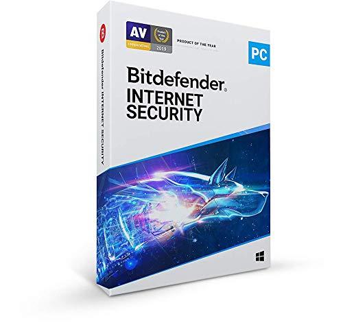 Bitdefender Internet Security | 3 dispositivos | 1 año | PC | EN