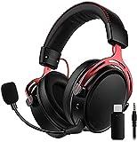 2.4G Wireless Gaming Headset für PS4, PS5, PC, Switch, Mac, USB Gaming Kopfhörer mit...