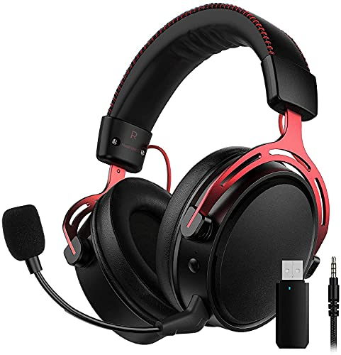 2.4G Wireless Gaming Headset für PS4,...