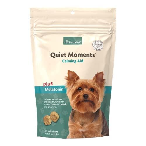 NaturVet - Quiet Moments Calming Aid Plus Melatonin