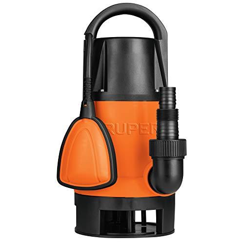 Truper BOS-1SP, Bomba sumergible plástica para agua sucia 1 HP