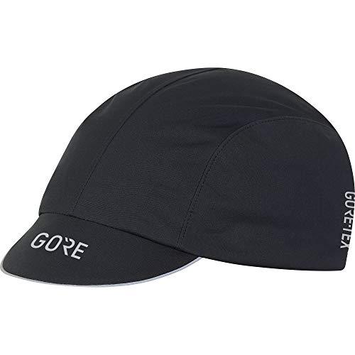 GORE WEAR C7 Cappellino da ciclismo unisex GORE-TEX, Taglia unica, Colore: Nero