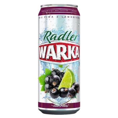 12 Dosen Radler Warka Piwa Mix 2% Vol. aus Polen inc. 3.00€ EINWEG Pfand Porzeczka z Limon/Schwarze Johannisbeere mit Limone