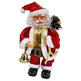 Père Noël Dansant et Chantant - Décoration pour Les fêtes de Fin d'année