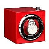 JHSHENGSHI Coctelera de Reloj Caja de bobinado Segura Caja de Regalo Caja de joyería Medidor de Giro Coctelera Caja de Reloj Moda