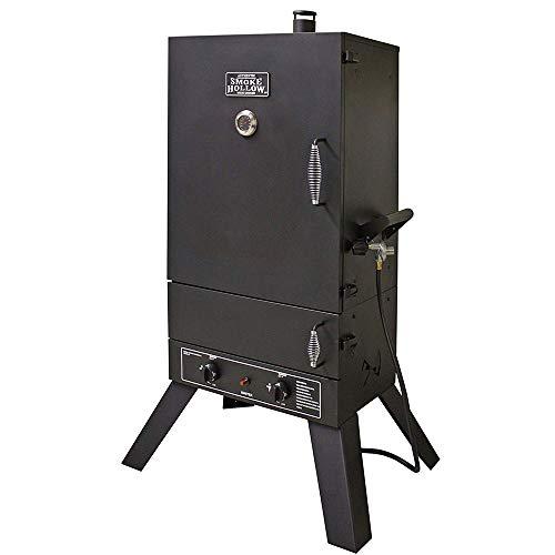 Masterbuilt 44241G2 Gas Smoker, 24.50' L x 60' H x 33' W, Black