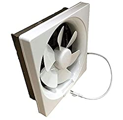 Budget Choice for Best Wall Mount Exhaust Fan: Professional Grade Products Shutter Exhaust Fan