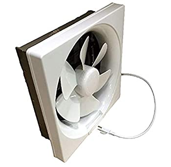Professional Grade Products 9800394 Shutter Exhaust Fan for Garage Shed Pole Barn Hydroponic Ventilation 265 CFM 6
