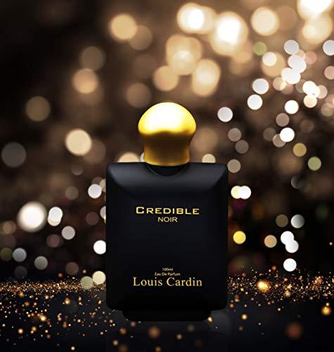 Lousin Cardin Credible Noir for Him EDP 100ml Musk Rose Scent Perfume