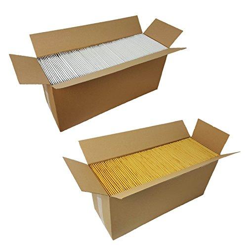 200 Luftpolstertaschen weiss C3 Größe 170x225mm DIN A5 B6+ Luftpolsterumschläge Luftpolsterversandtaschen
