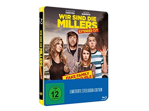 Wir sind die Millers - Limited Edition Exklusiv Steelbook [Blu-ray]
