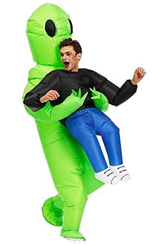 Disfraz de Alien para hombre, disfraz hinchable para adultos, superdivertido, adecuado para fiestas, espectáculos