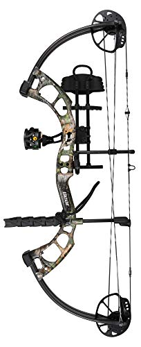 Bear Archery Cruzer Lite RTH RH 5-45# Compound Bows, Realtree Xtra Green, 12-27