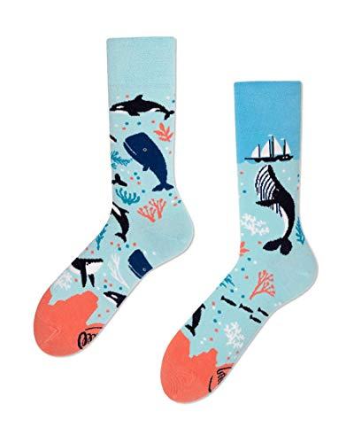 Many Mornings unisex Socken - Ocean Life (43-46)