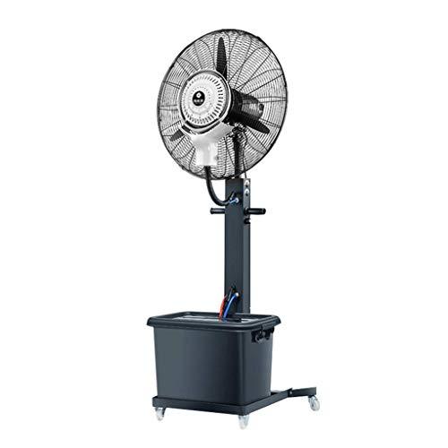 Potente Ventilador Ventilador De Fábrica Tres Niveles De Volumen De Aire Aire Acondicionado Frío Ventilador De Viento Industrial De Alta Potencia, Oscilación Automática Izquierda Y Derecha Pot