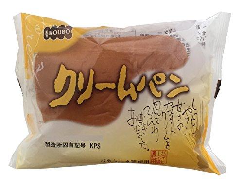 酵母工業 クリームパン 1個×12袋