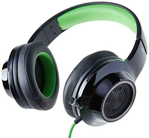Edifier G4 koptelefoon, kabel, zwart, groen