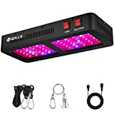 LED Grow Lights, WILLS Upgraded 600W Grow Lights Full Spectrum Veg & Bloom Switches Plant Grow Lamps for Seeding Flowering Indoor Plant Greenhouse Growing (60PCs 10W LEDs)