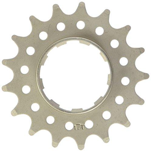Point Ritzel Single Speed, Distanzring-Stärke 1,8mm, Cr-Mo Stahl, silber, 14 Zähne, 02021405