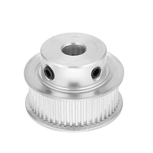 sourcing map Aluminium MXL 50 dents 10mm alésage 11mm Ceinture courroie poulie roue distribution synchrone