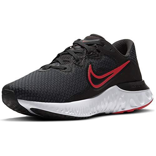 Nike Renew Run 2, Zapatillas para Correr Hombre, Black Univ Red Dk Smoke Grey White, 46 EU