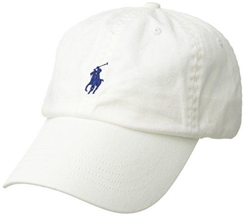 Ralph Lauren Polo Baseballkappe mit Pony - Weiß - Einheitsgröße