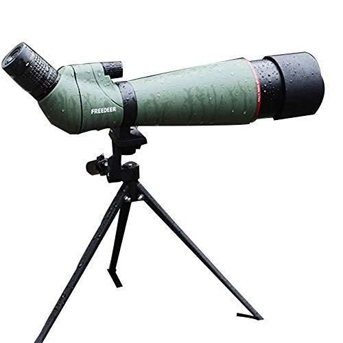 10 * 50/12 * 50/20 * 50/20-60 * 60/20-60 * 65/20-60 * Spotting Scope, télescope astronomique monoculaire, pour Les activités de tir à l'extérieur (Taille : F20-60 * 80)