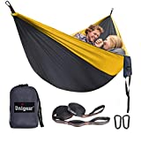 Unigear Hamaca Ultraligera para Camping (Gris)