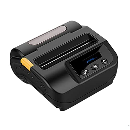 FZJDX Etiqueta Impresora de Etiqueta de código de Barras Impresora de Recibos térmicos 2 en 1 Máquina de Billete de impresión 80mm para Windows ISO de Android