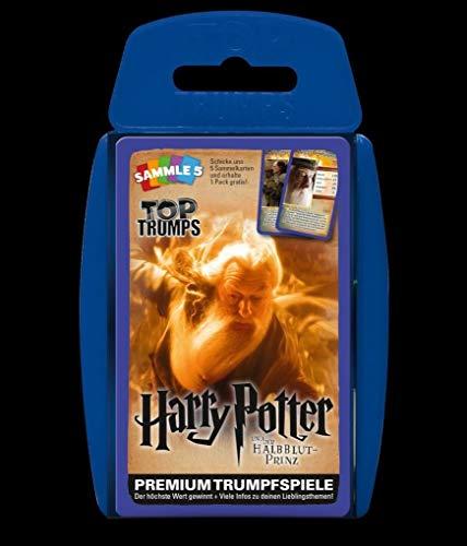 Winning Moves GmbH win62837No Top Trumps: Harry Potter e Il Principe Mezzosangue, Gioco