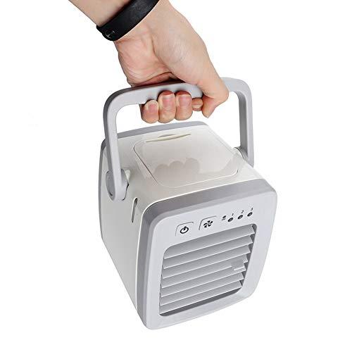 YHSGD Mini Aire Acondicionado portátil Ventilador Escritorio Ventilador de Aire USB Refrigerador ártico Humidificador Silencio Silencio Espacio Personal silencioso para el hogar de la Oficina