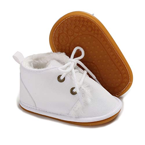 Luvable Friends Unisex Baby Crib Shoes, Tan Mary Jane, 0-6 Months