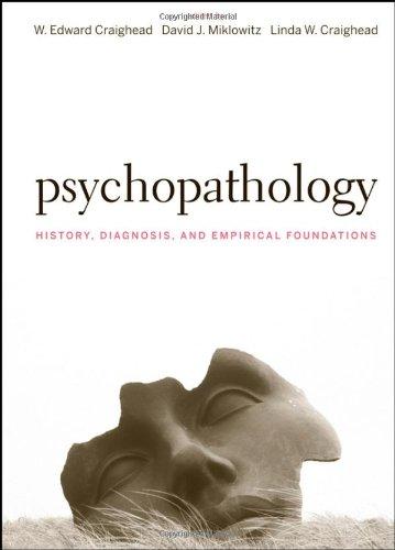 Psychopathology: History, Diagnosis, and Empirical...