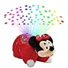 Pillow Pets Disney Rockin the Dots Minnie Mouse Sleeptime Lites - Retro Minnie Mouse Plush Night Light