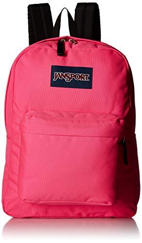 JANSPORT Mochila Superbreak, Mujer, JS00T501, Ultra rosa., Talla única