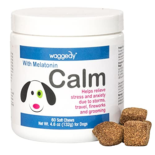 waggedy Calming Chews for Dogs, Tasty Treats...
