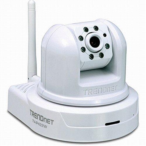 Câmera Video TRENDnet IP PTZ SecurView, Dia/Noite e 1x 10/100Mbps RJ45 TV-IP422
