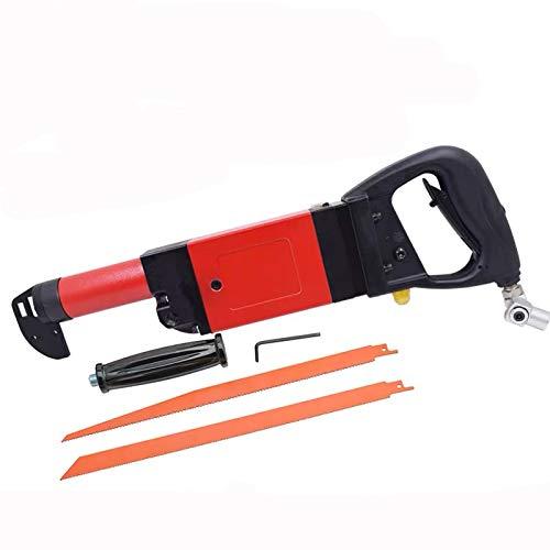 Jitterbug Heavy Duty Pneumatic Reciprocating Saw Recipro Air Saw Kit Multiple Wood Sheet Metal Cutter Tool