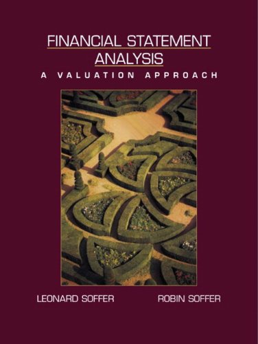 Financial Statement Analysis: A Valuation Approach