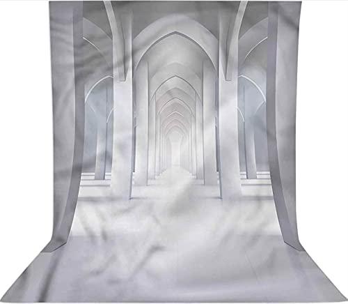 Fondo de telón de fondo largo de 1,8 x 2,7 m, decoración de pasillo, telón de fondo de tela de microfibra, pantalla plegable de alta densidad para fotografía de vídeo y televisión