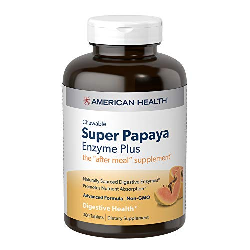Advanced, Naturally-Sourced Digestive Support; Advanced formula contains naturally-sourced enzymes and may be especially helpful when looking for a higher level of digestive support Promotes Nutrient Absorption; Each wafer contains papaya fruit with ...