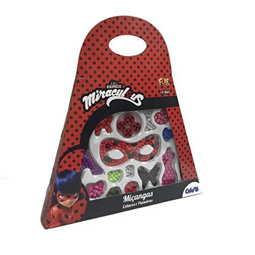 Ladybug Miçanga Bolsa Miraculous Vermelha