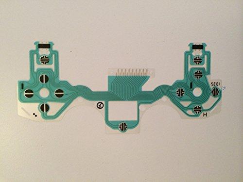 ranstart conducteur Film Clavier partie de réparation pour Playstation 4 PS4/DualShock 4