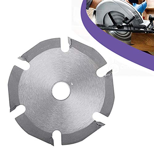 Multitool Grinder Saw Disc, Carbide Tipped Wood Cutting Disc, 6T Circular Saw Blade, Cutting Saw Blade for Angle Grinders