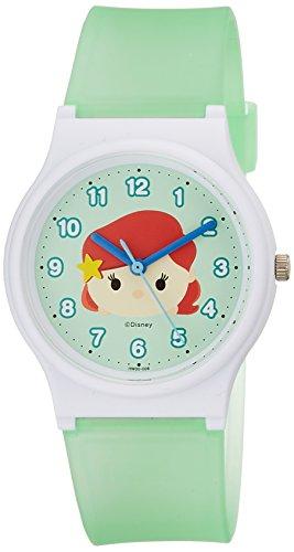 [シチズン Q&Q] 腕時計 ディズニー コレクション TSUMTSUM アリエル HW00-008 ガールズ グリーン