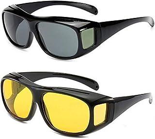 Eyvyn HD Vision Day and Night Unisex HD Vision Goggles Anti-Glare Polarized Sunglasses Men/Women Driving Glasses Sun Glass...