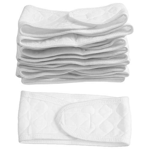 HEALLILY 10 cinturones umbilicales para bebé, de algodón, cordón umbilical, para el ombligo, para bebés recién nacidos