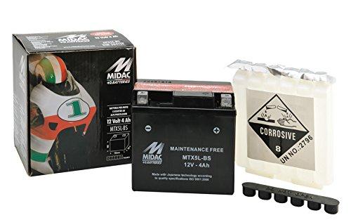 Batterie MIDAC mtx5l-bs