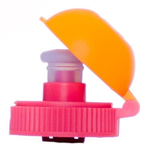 Zielonka Viv Bottle 3.0 Couvercle de Rechange, Couvercle, Deckel VIV Bottle Ersatzteil, Orange