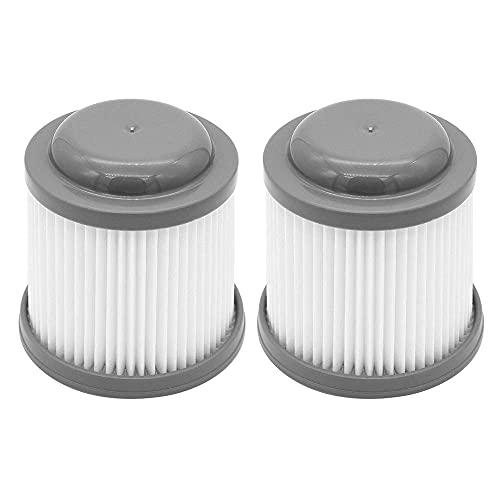 DyniLao 2 pezzi filtro di ricambio per Black + Decker PVF110, PHV1210, PHV1410, PHV1810 Sistema di filtri per aspirapolvere, filtro di ricambio # 90552433